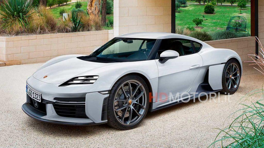 Porsche 718 Cayman Electric: How we imagine it