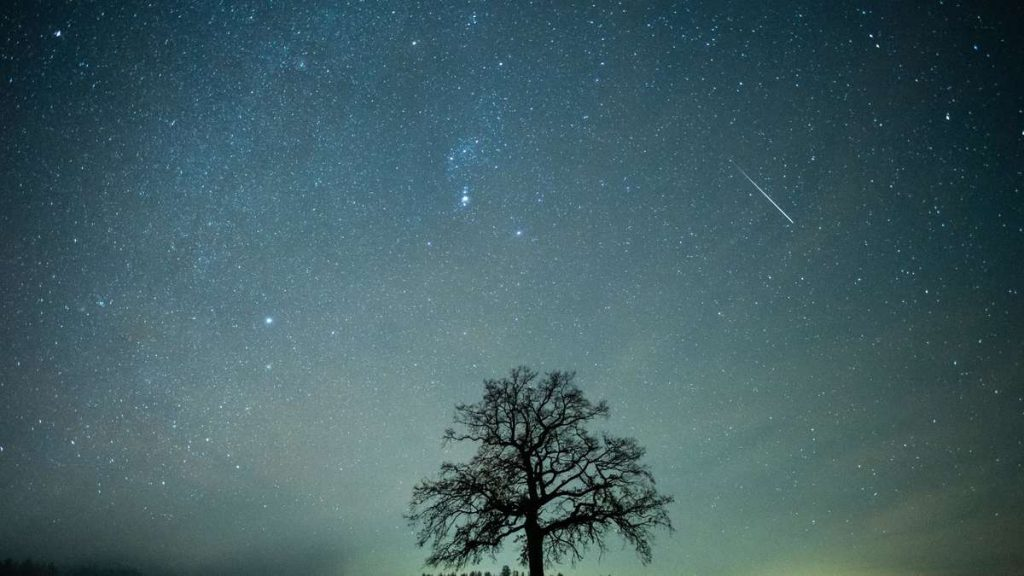 Shooting stars will rain down on Germany: this is how you can marvel at Dragonites today
