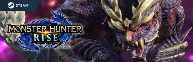 The monster hunter rides