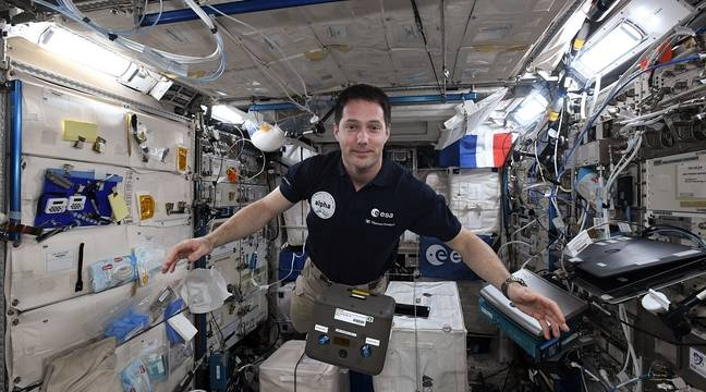 Thomas Pesket became the first Frenchman to head the International Space Station